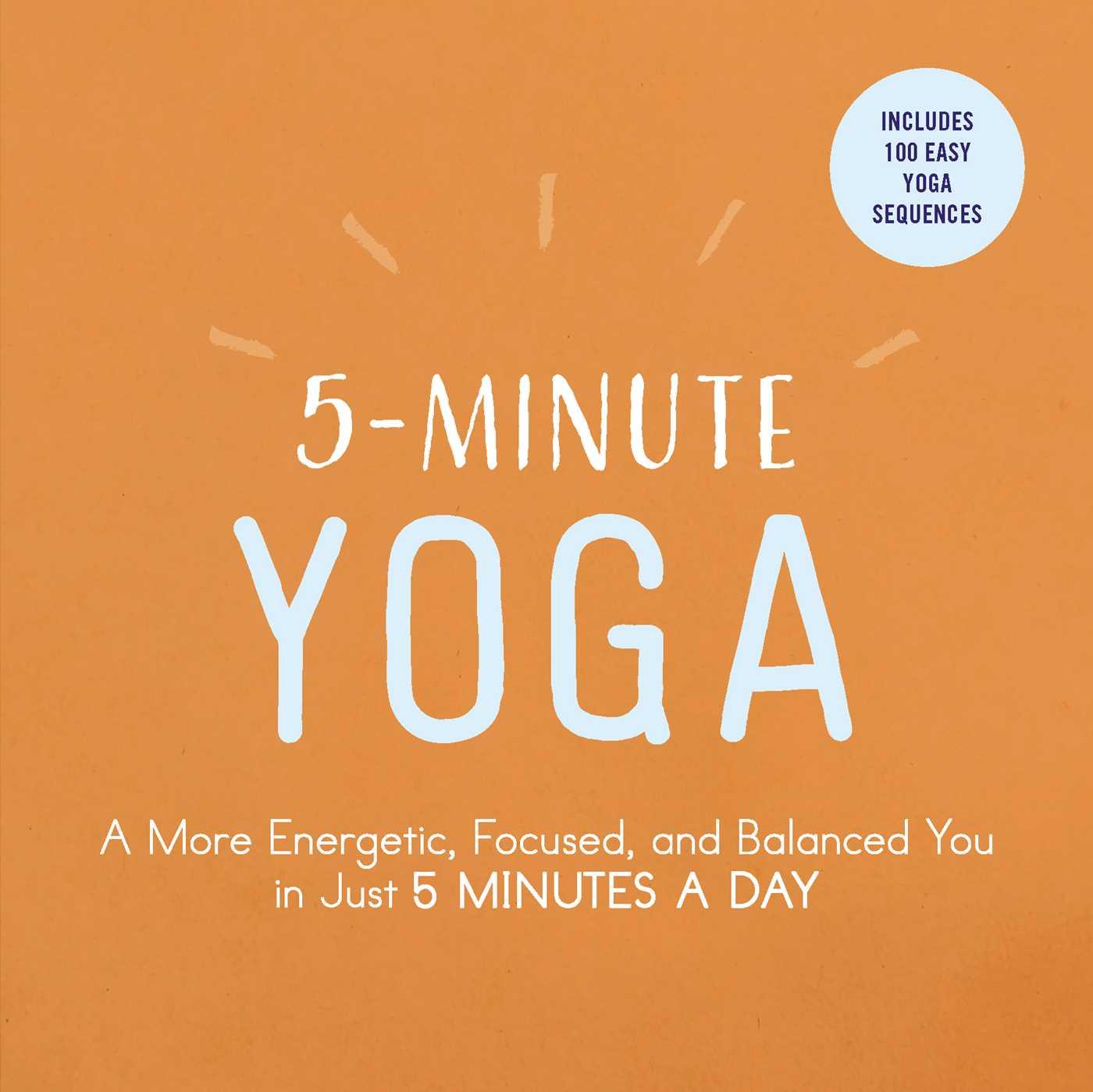 5 minute yoga 9781507206324 hr