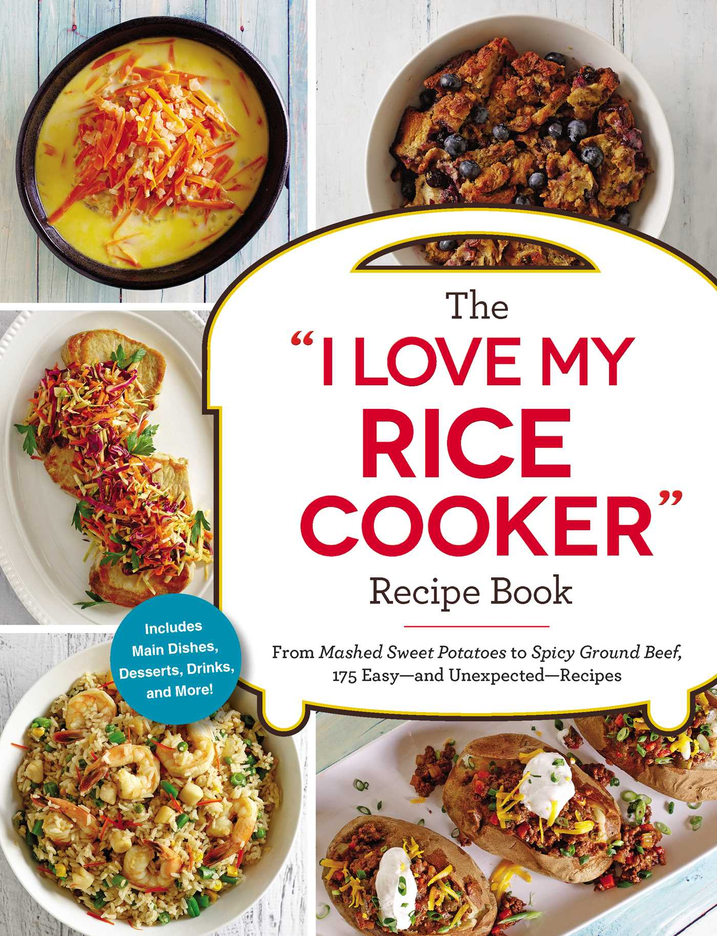 The i love my rice cooker recipe book 9781507206362 hr