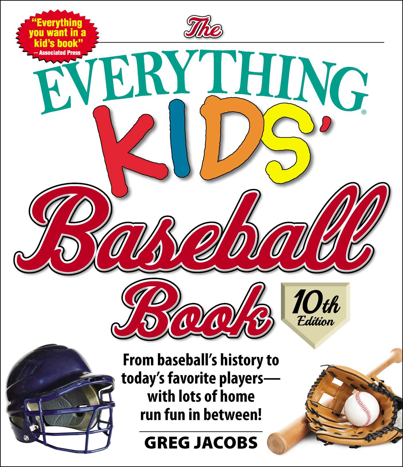 The everything kids baseball book 10th edition 9781507206546 hr