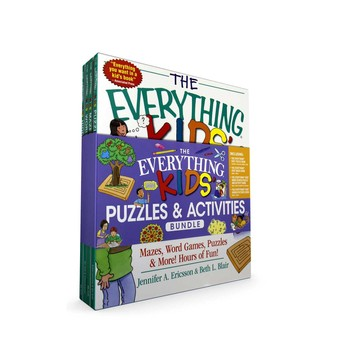 The Everything Kids Puzzles Activities Bundle Book By Beth L