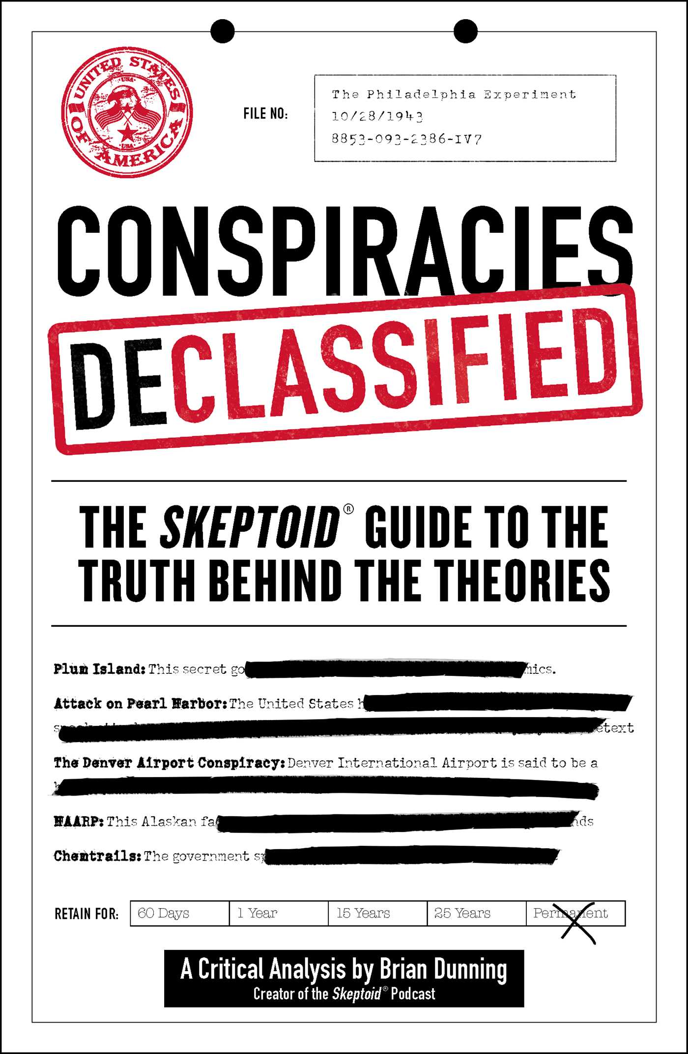 Conspiracies declassified 9781507206997 hr