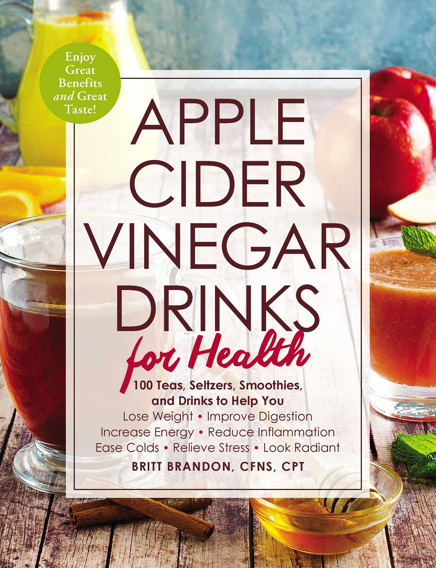 Apple cider vinegar drinks for health 9781507207574 hr