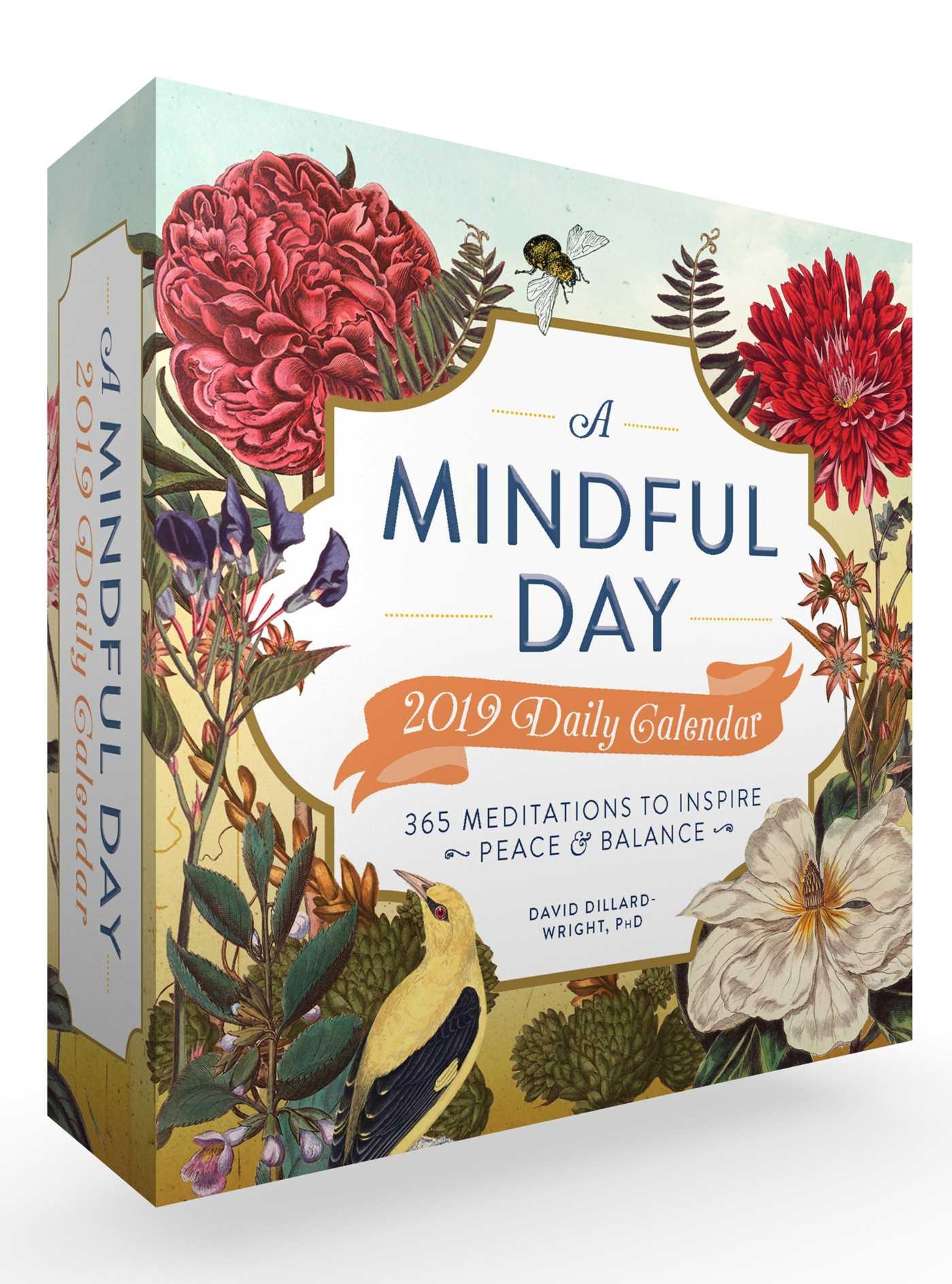 A mindful day 2019 daily calendar 9781507207734 hr