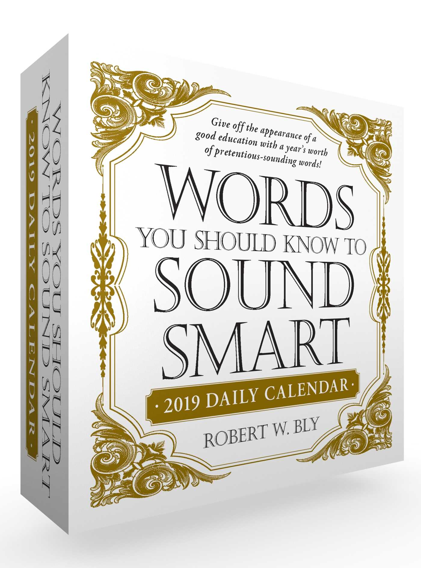 Words you should know to sound smart 2019 daily calendar 9781507207741 hr