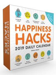 Happiness Hacks 2019 Daily Calendar
