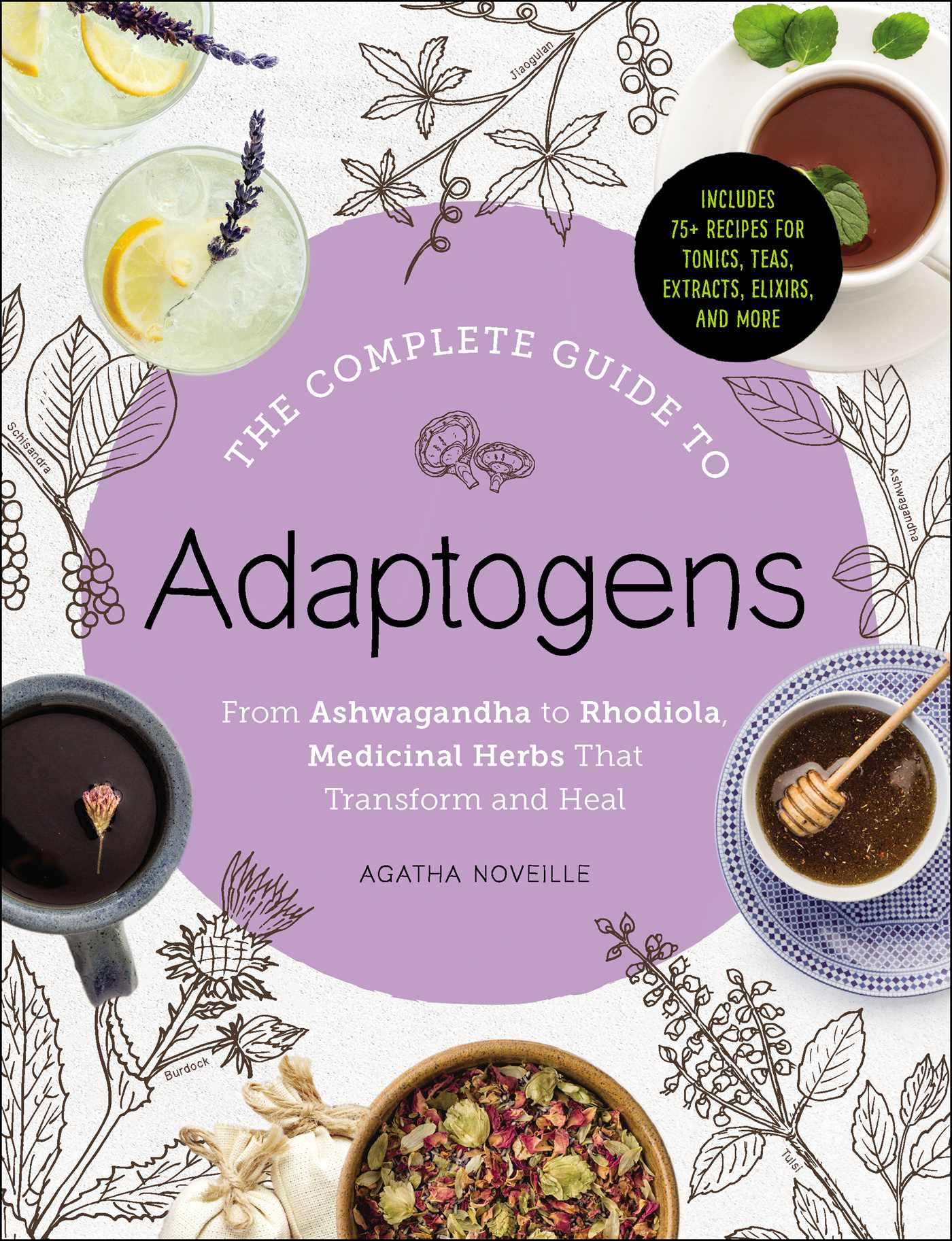 The complete guide to adaptogens 9781507207857 hr