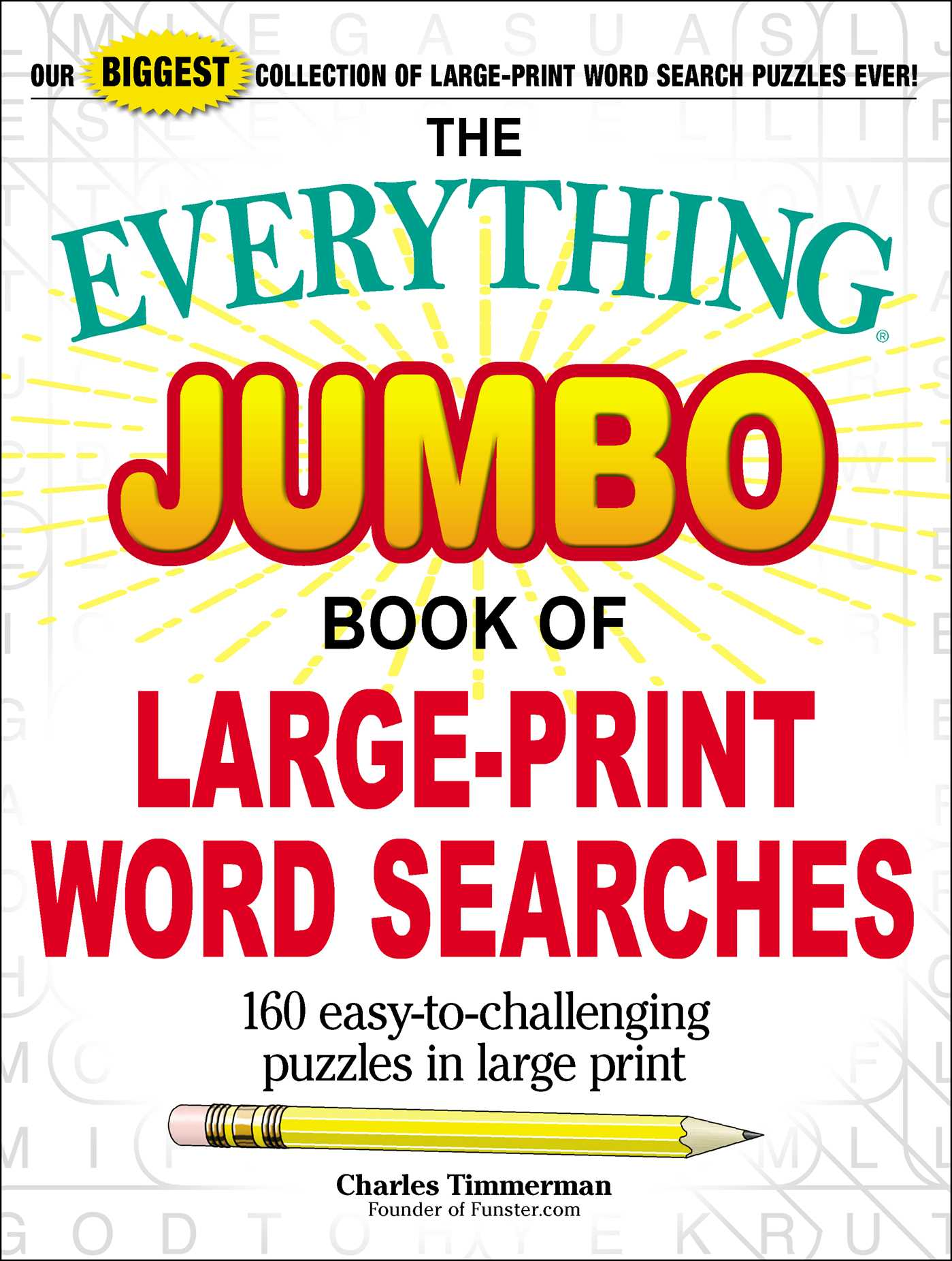 - The Everything Jumbo Book Of Large-Print Word Searches Book By