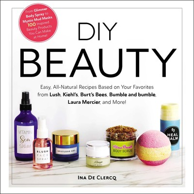 Diy Beauty Book By Ina De Clercq Official Publisher Page Simon