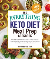 Buy The Everything Keto Diet Meal Prep Cookbook