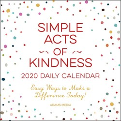 Acts Of Kindness Calendar December 2020 Simple Acts Books by Adams Media, Maria Del Russo, and Michelle