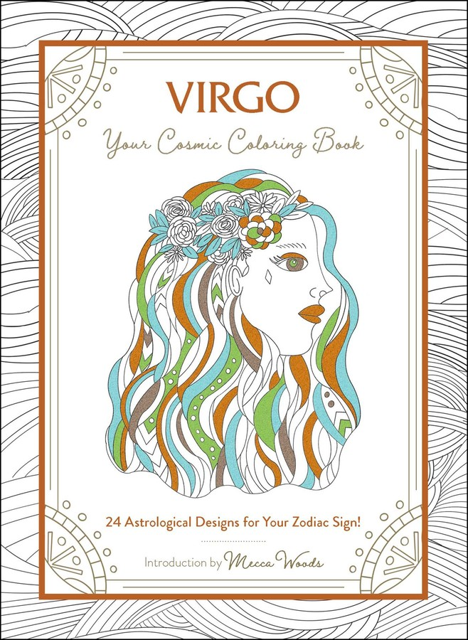 - Virgo: Your Cosmic Coloring Book - Book Summary & Video Official  Publisher Page Simon & Schuster