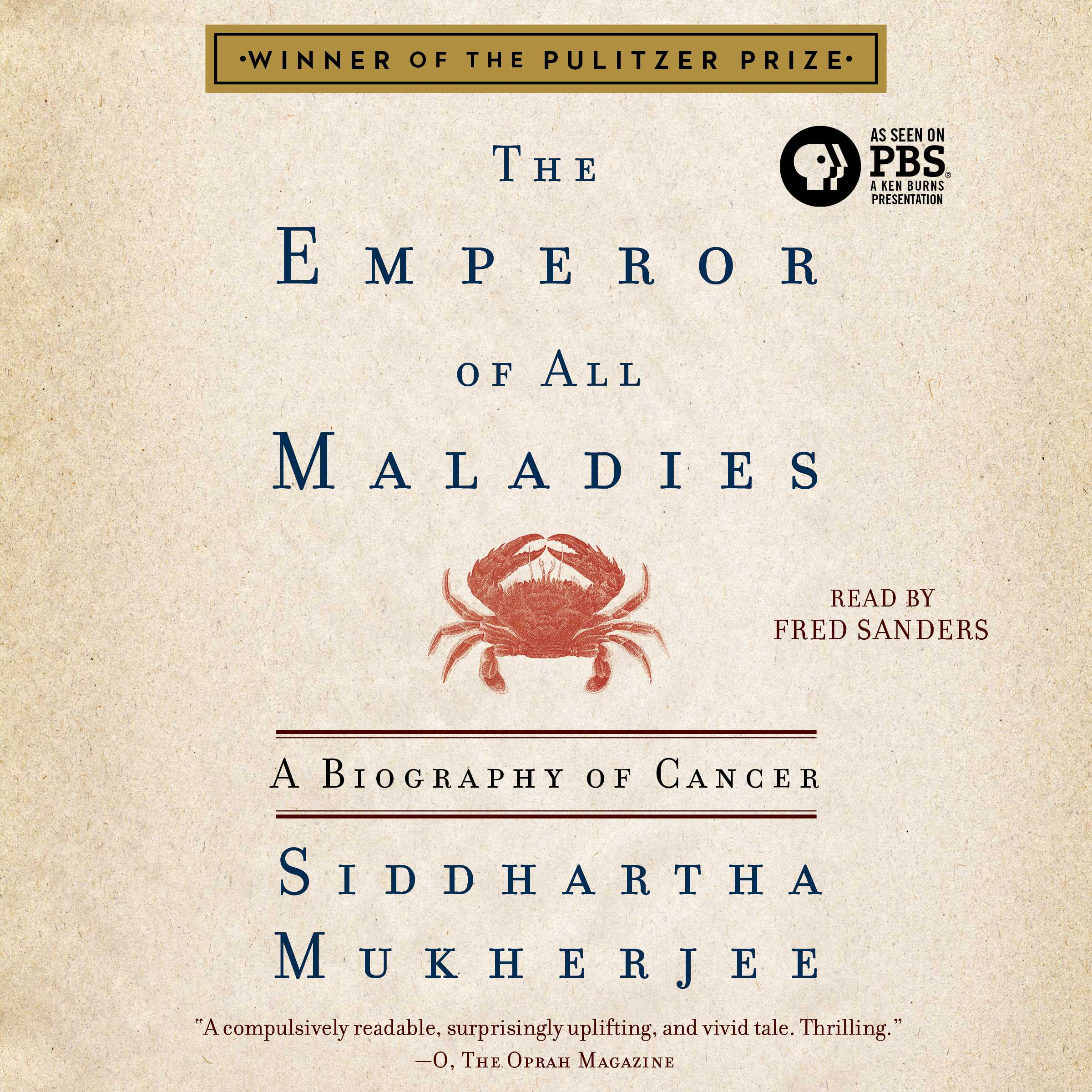 The emperor of all maladies 9781508214243 hr