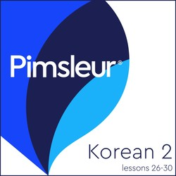 Pimsleur Korean Level 2 Lessons 26-30 MP3