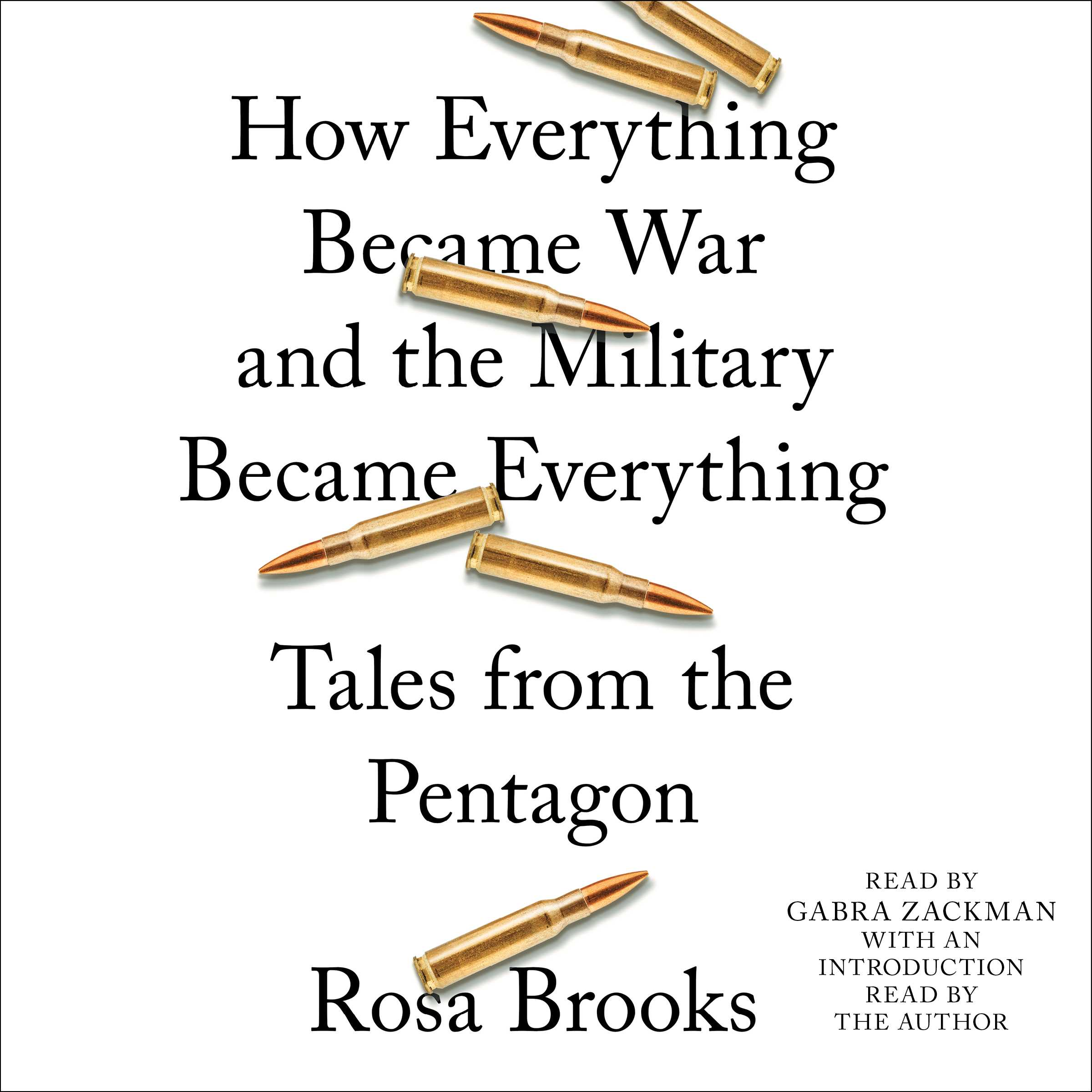 How everything became war and the military became everything 9781508226819 hr
