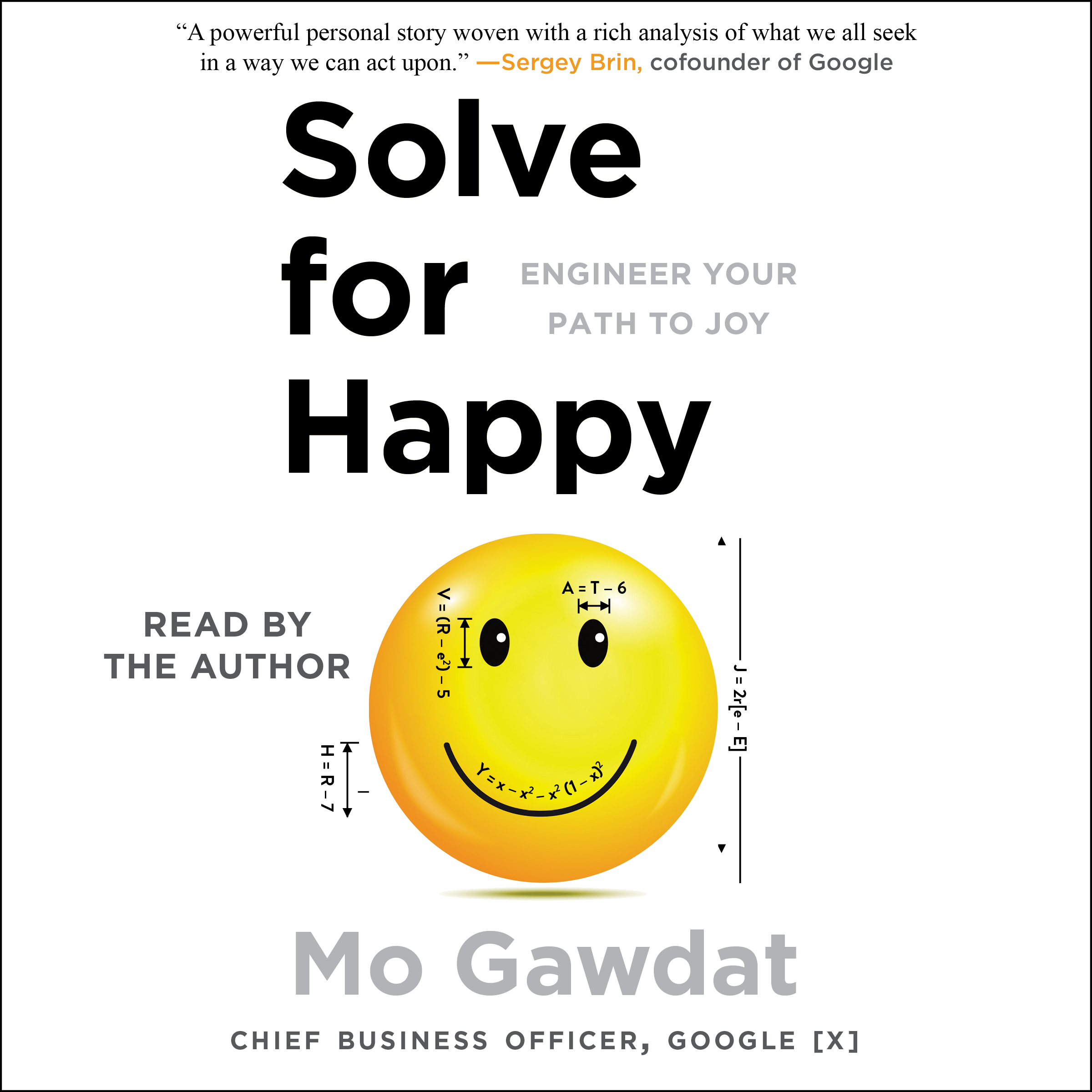 Solve for Happy Audiobook by Mo Gawdat | Official Publisher Page