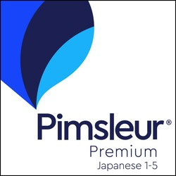 Pimsleur Japanese Levels 1-5 Unlimited Software