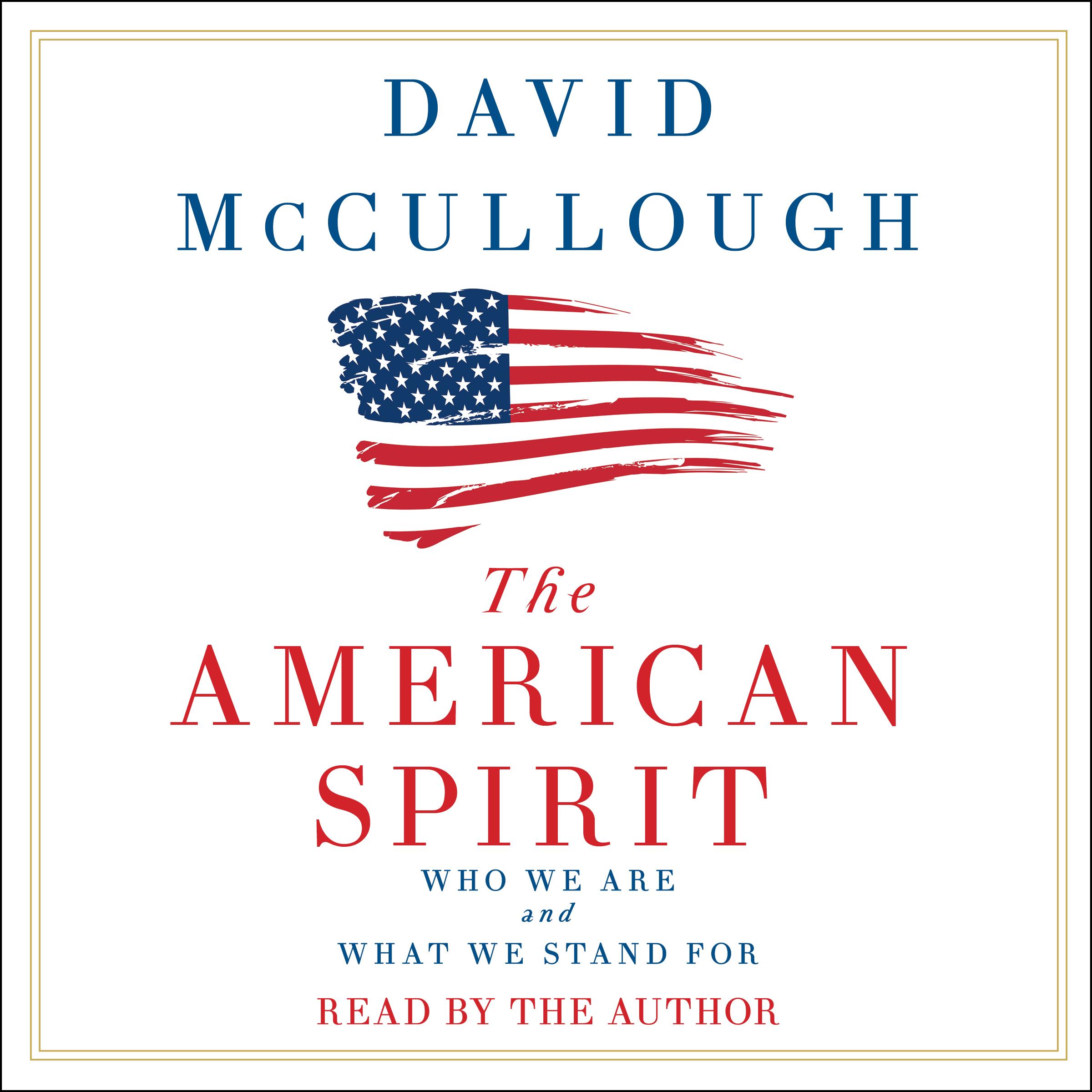 The american spirit 9781508238713 hr