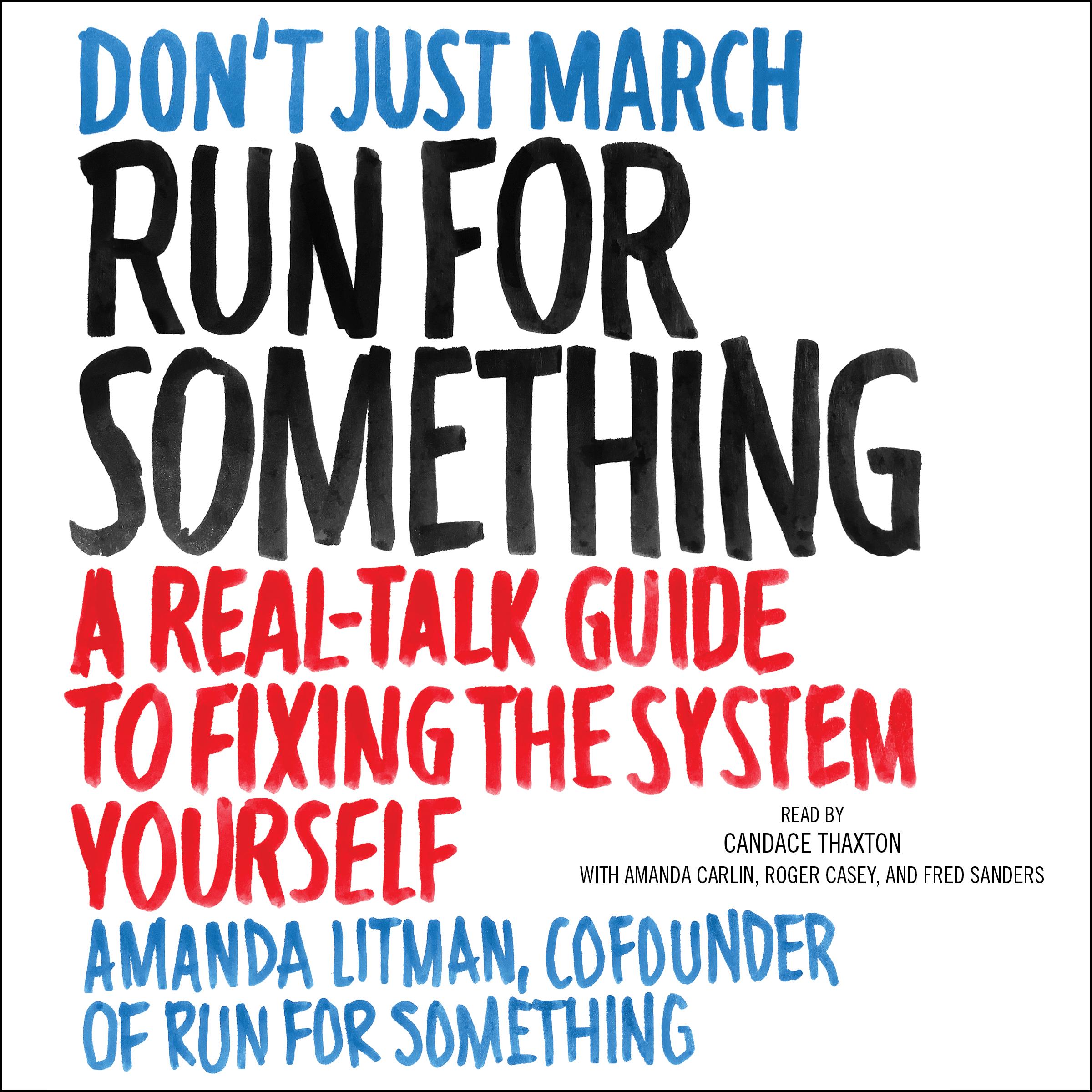 Run for something 9781508250692 hr