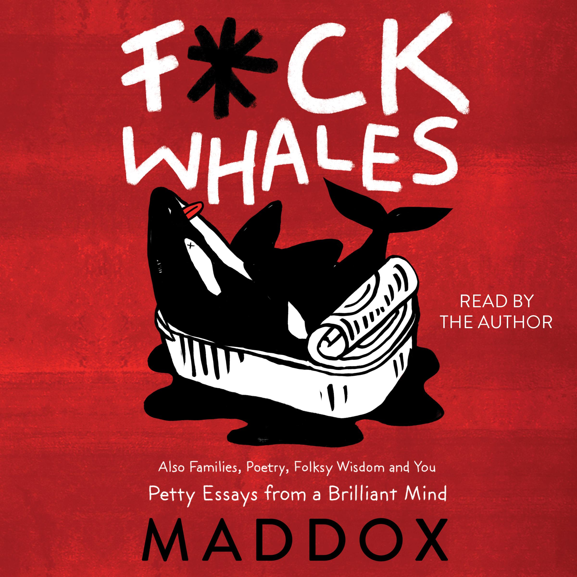 Fck whales 9781508251910 hr