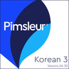 Pimsleur Korean Level 3 Lessons 26-30