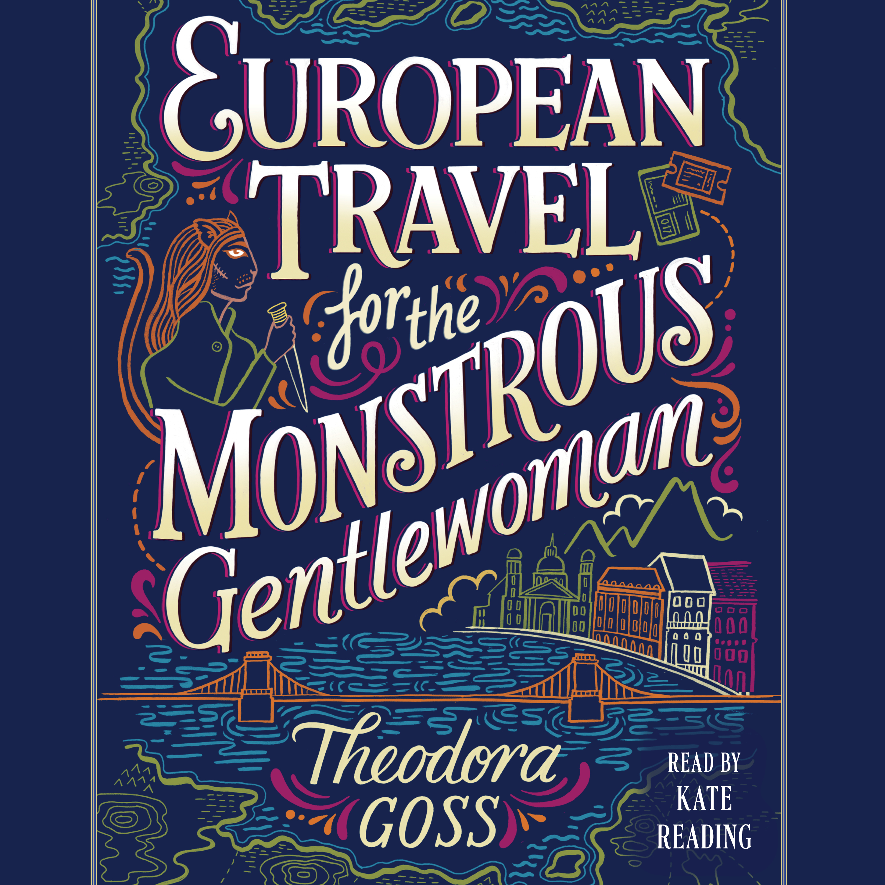 European travel for the monstrous gentlewoman 9781508255222 hr