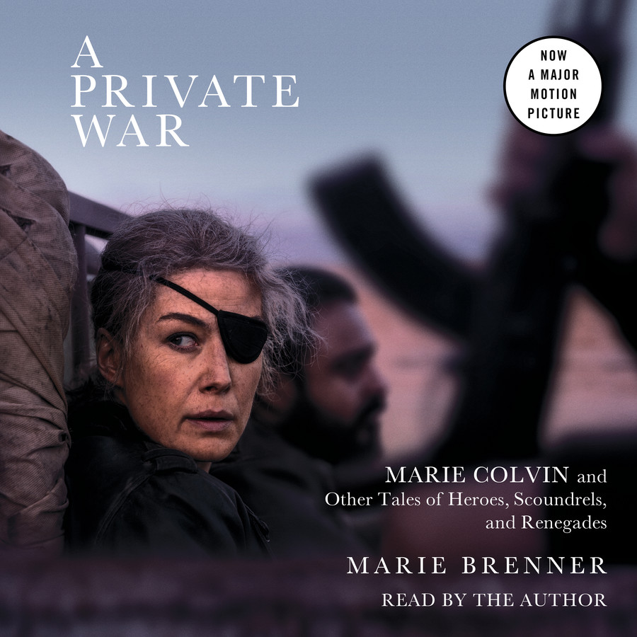 A Private War Audiobook by Marie Brenner   Official Publisher Page   Simon & Schuster UK