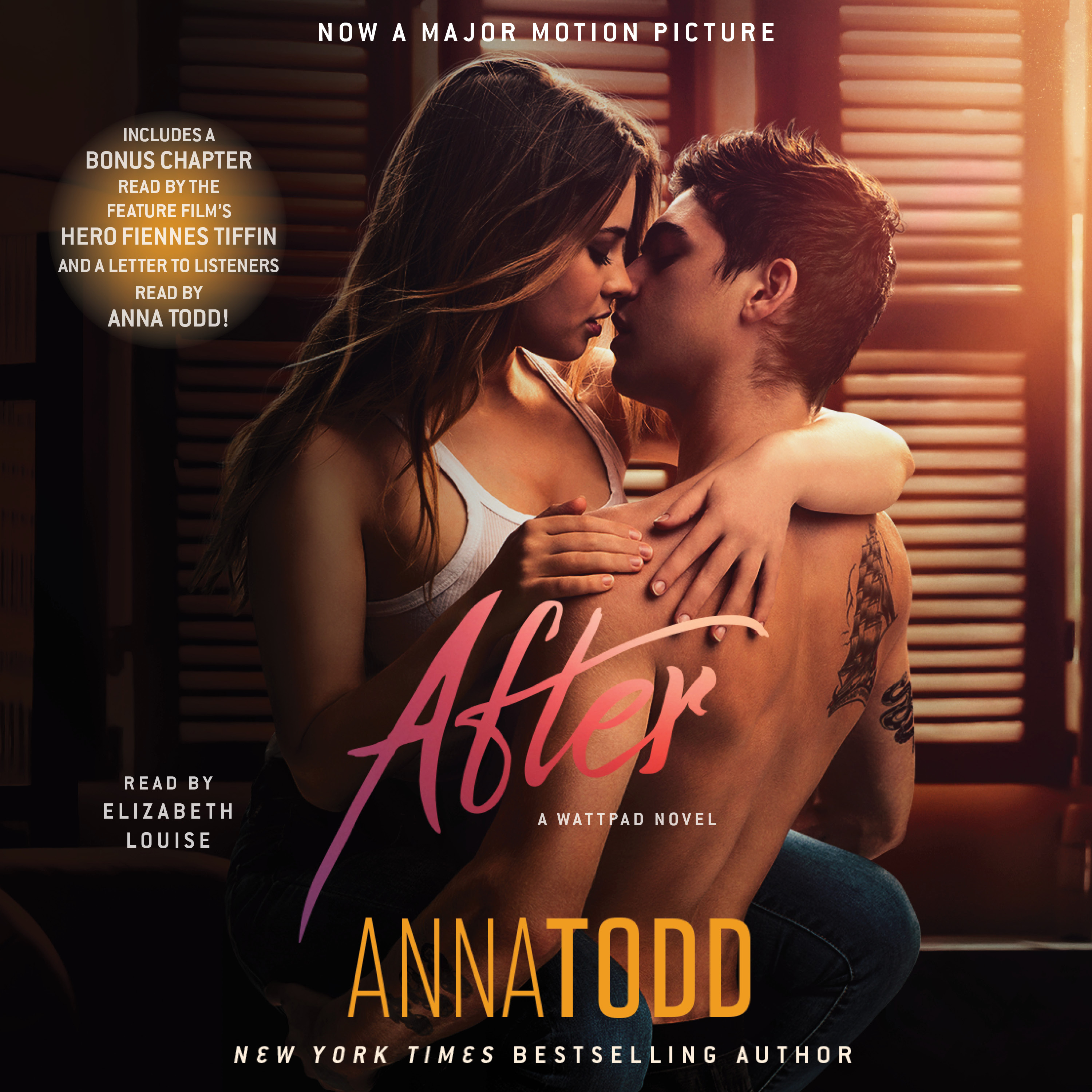 After Audiobook by Anna Todd, Elizabeth Louise, Hero Fiennes Tiffin