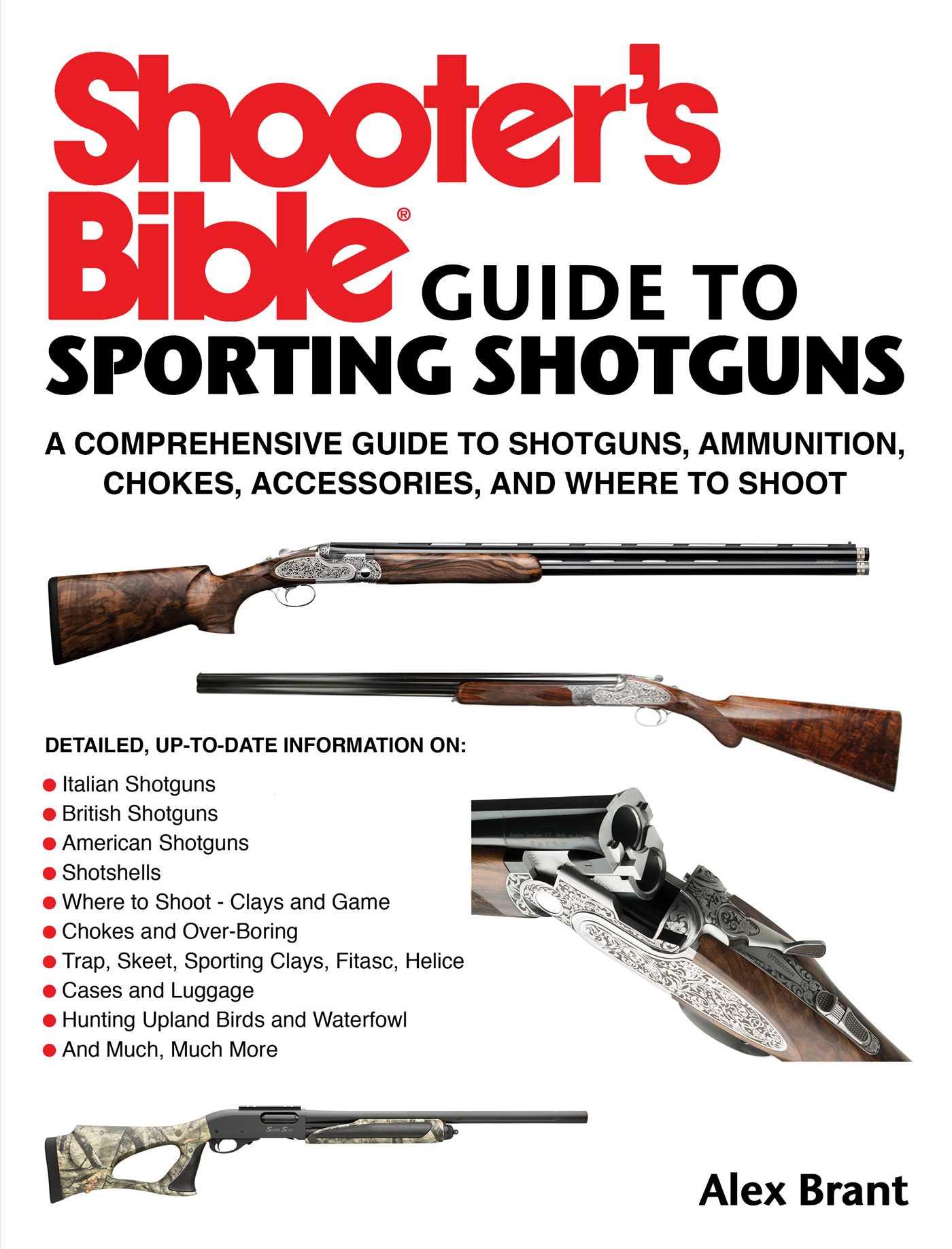 Shooters bible guide to sporting shotguns 9781510704657 hr