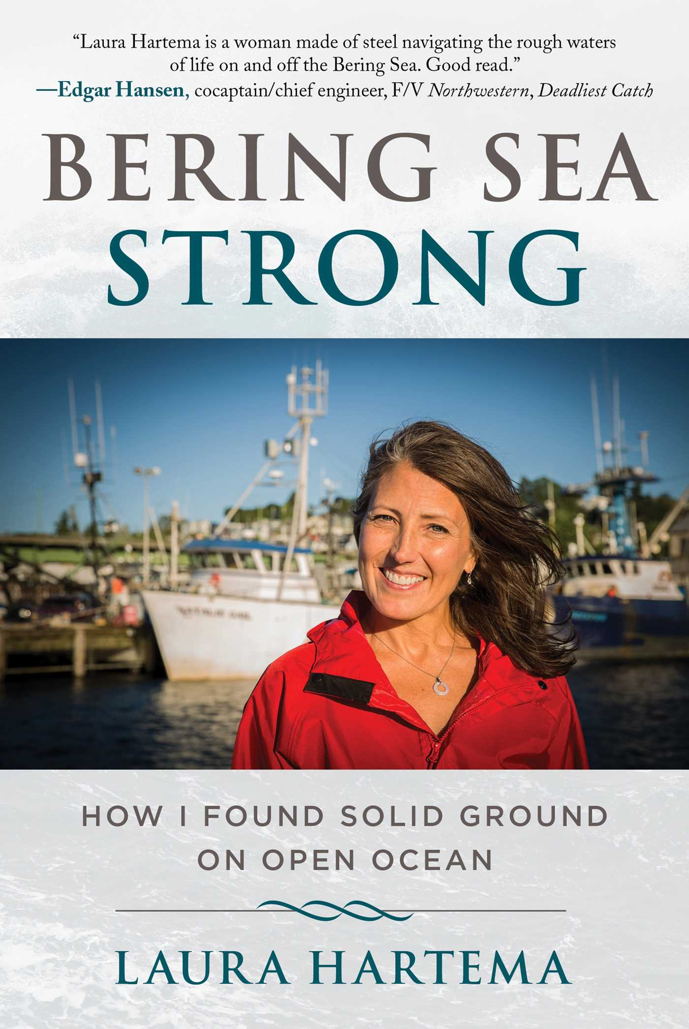 Book Cover Image (jpg): Bering Sea Strong