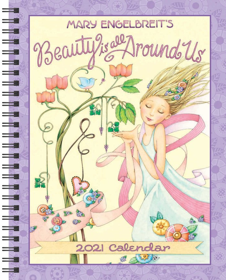 Mary Engelbreit 2021 Monthly/Weekly Planner Calendar   Book