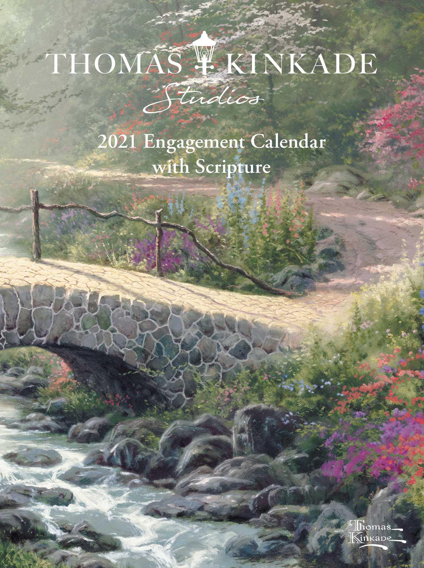 2021 Engagement Calendar Thomas Kinkade Studios 2021 Engagement Calendar with Scripture