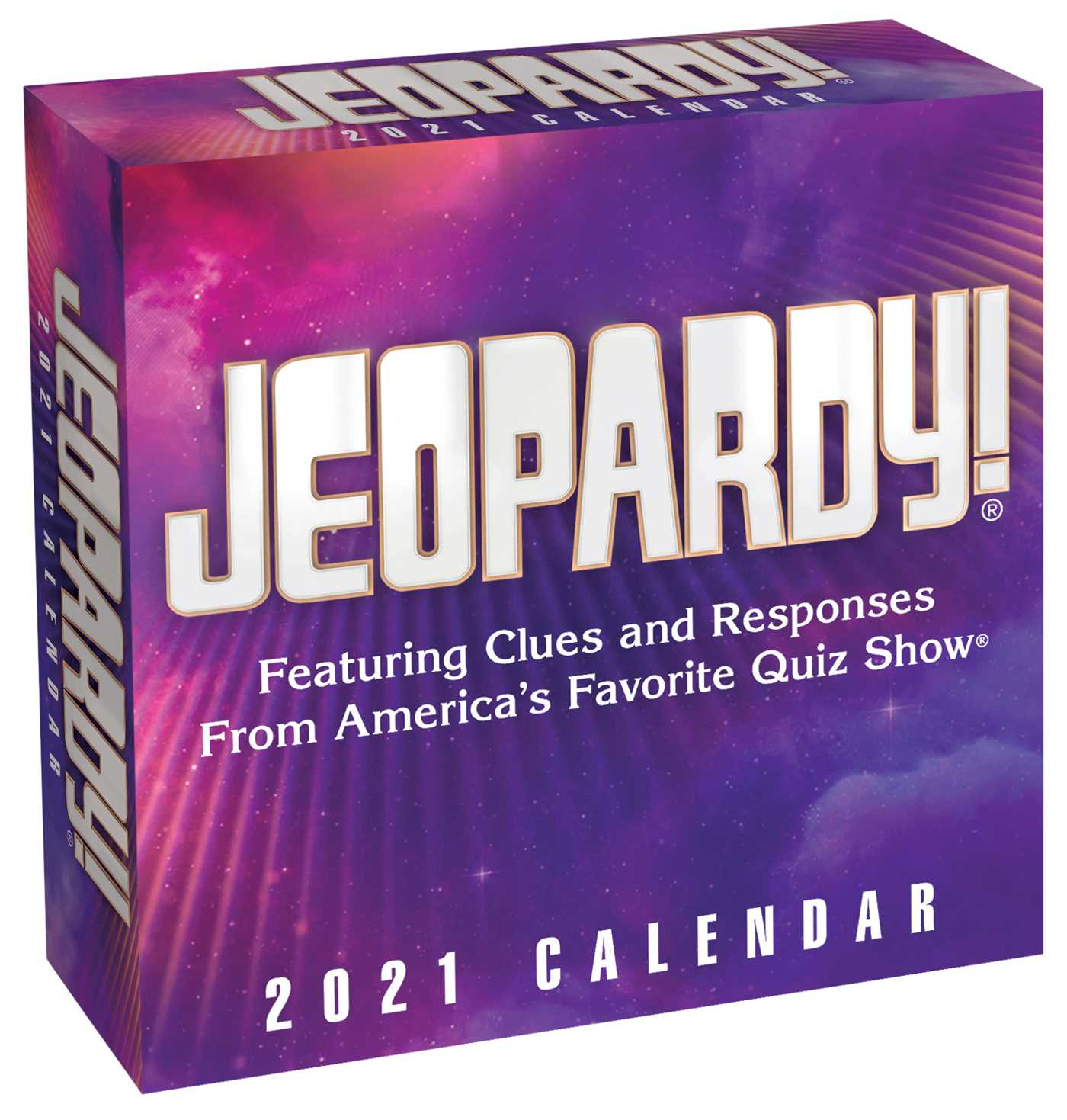 Jeopardy! 2021 Day to Day Calendar   Book Summary & Video