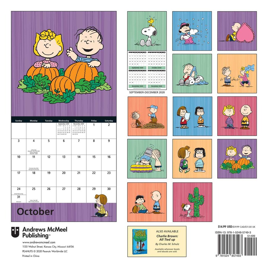 Peanuts 2021 Wall Calendar   Book Summary & Video | Official
