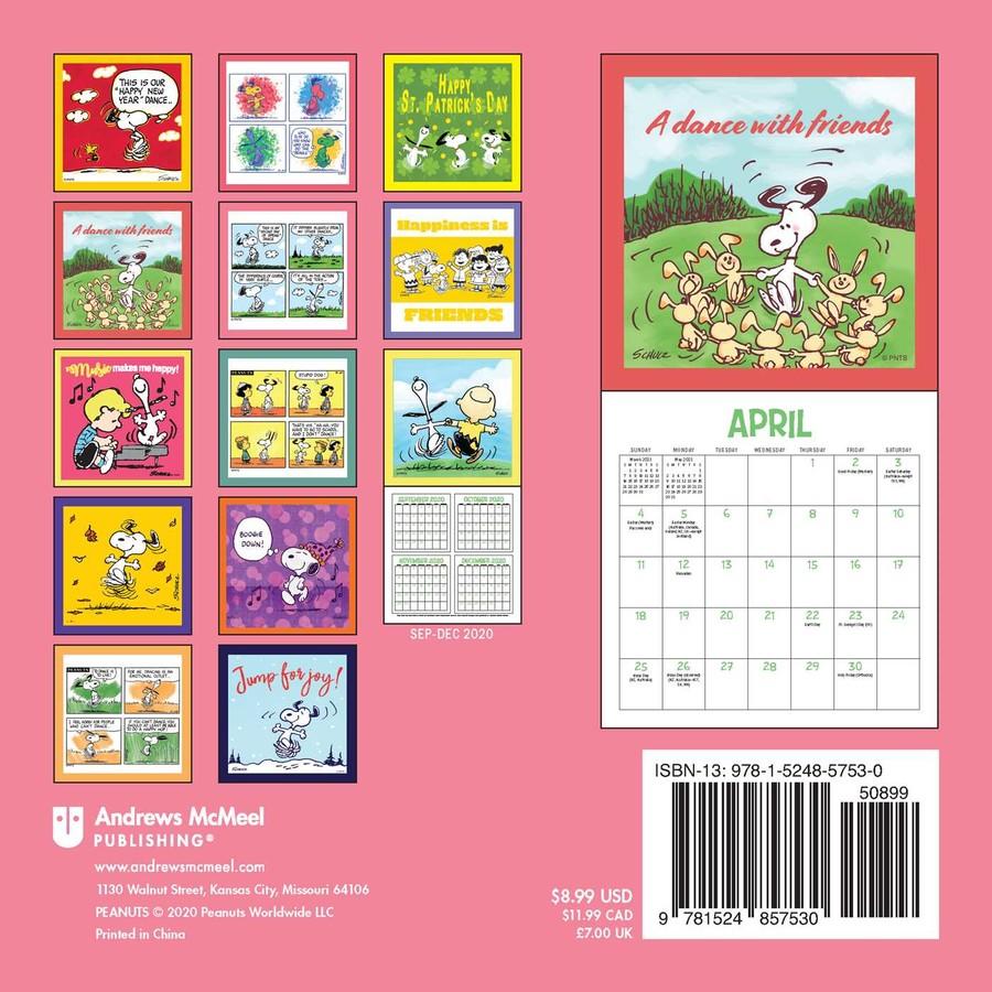 Peanuts 2021 Mini Wall Calendar   Book Summary & Video | Official