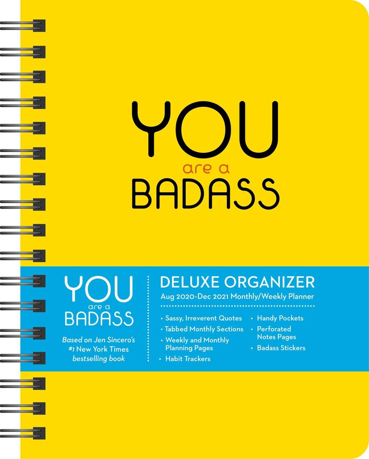 you are a badass month monthly weekly planning