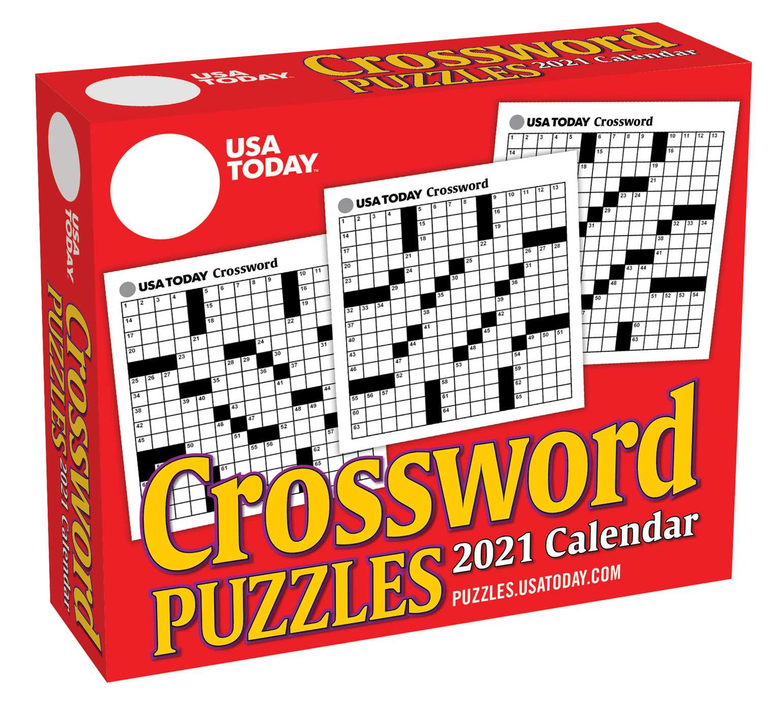 USA Today Crossword Puzzles 2021 Day to Day Calendar   Book