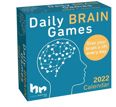 Daily Calendar 2022.Daily Brain Games 2022 Day To Day Calendar Book Summary Video Official Publisher Page Simon Schuster