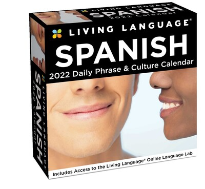 Spanish Calendar 2022.Living Language Spanish 2022 Day To Day Calendar Book Summary Video Official Publisher Page Simon Schuster