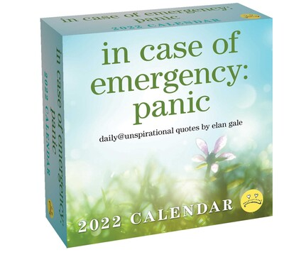 Ut Spring 2022 Calendar.Unspirational 2022 Day To Day Calendar Book Summary Video Official Publisher Page Simon Schuster