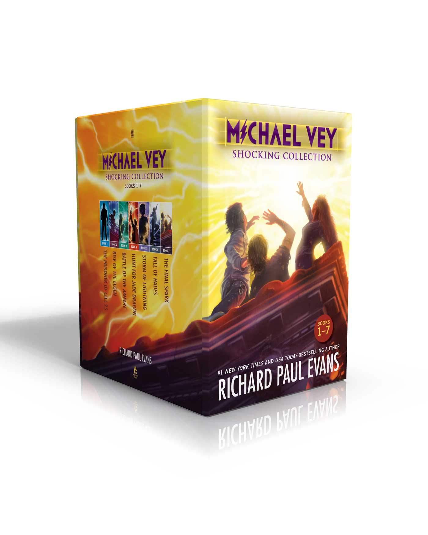 Michael vey shocking collection books 1 7 9781534400078 hr