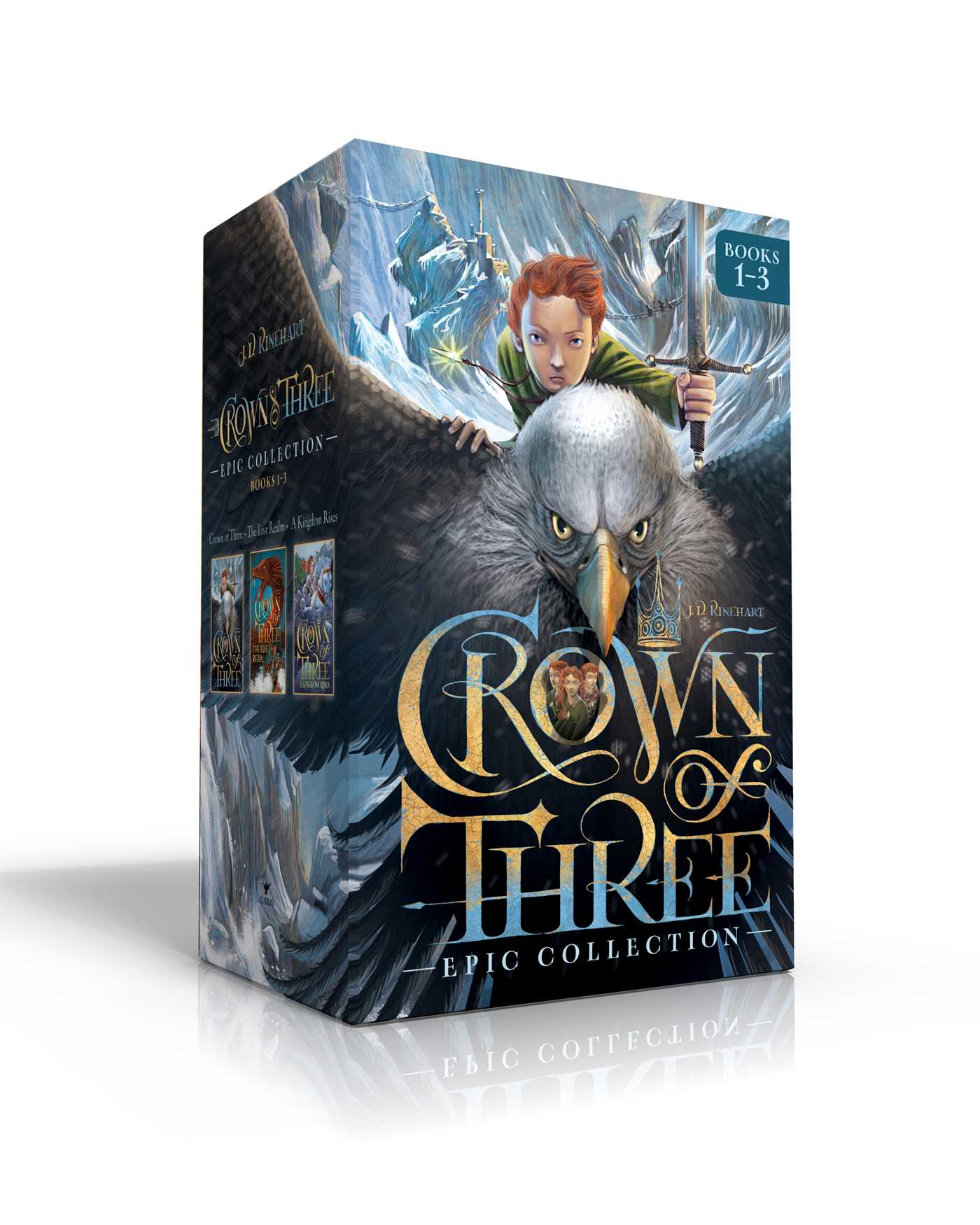 Crown of three epic collection books 1 3 9781534400320 hr