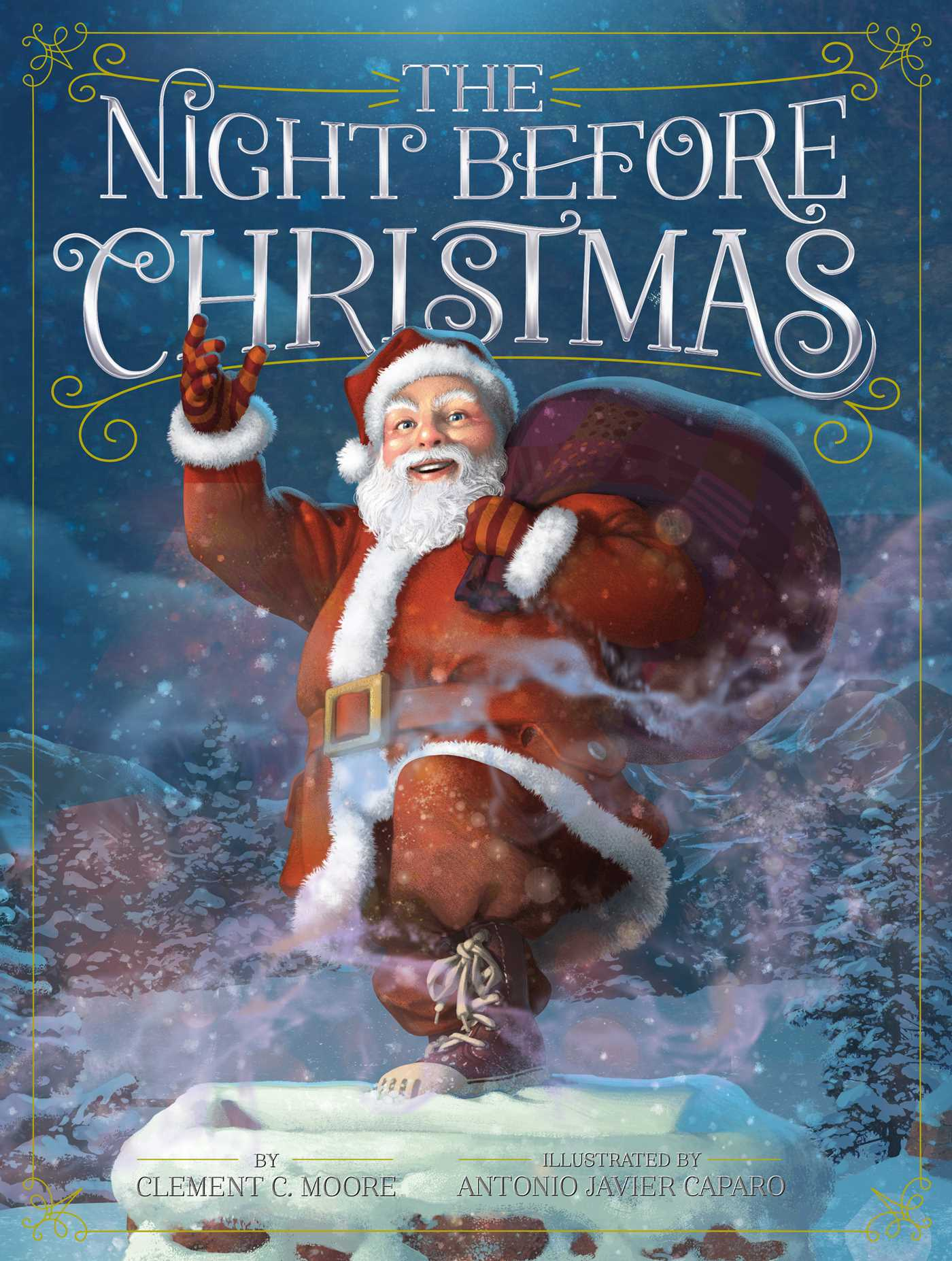 The Night Before Christmas Book By Clement C Moore