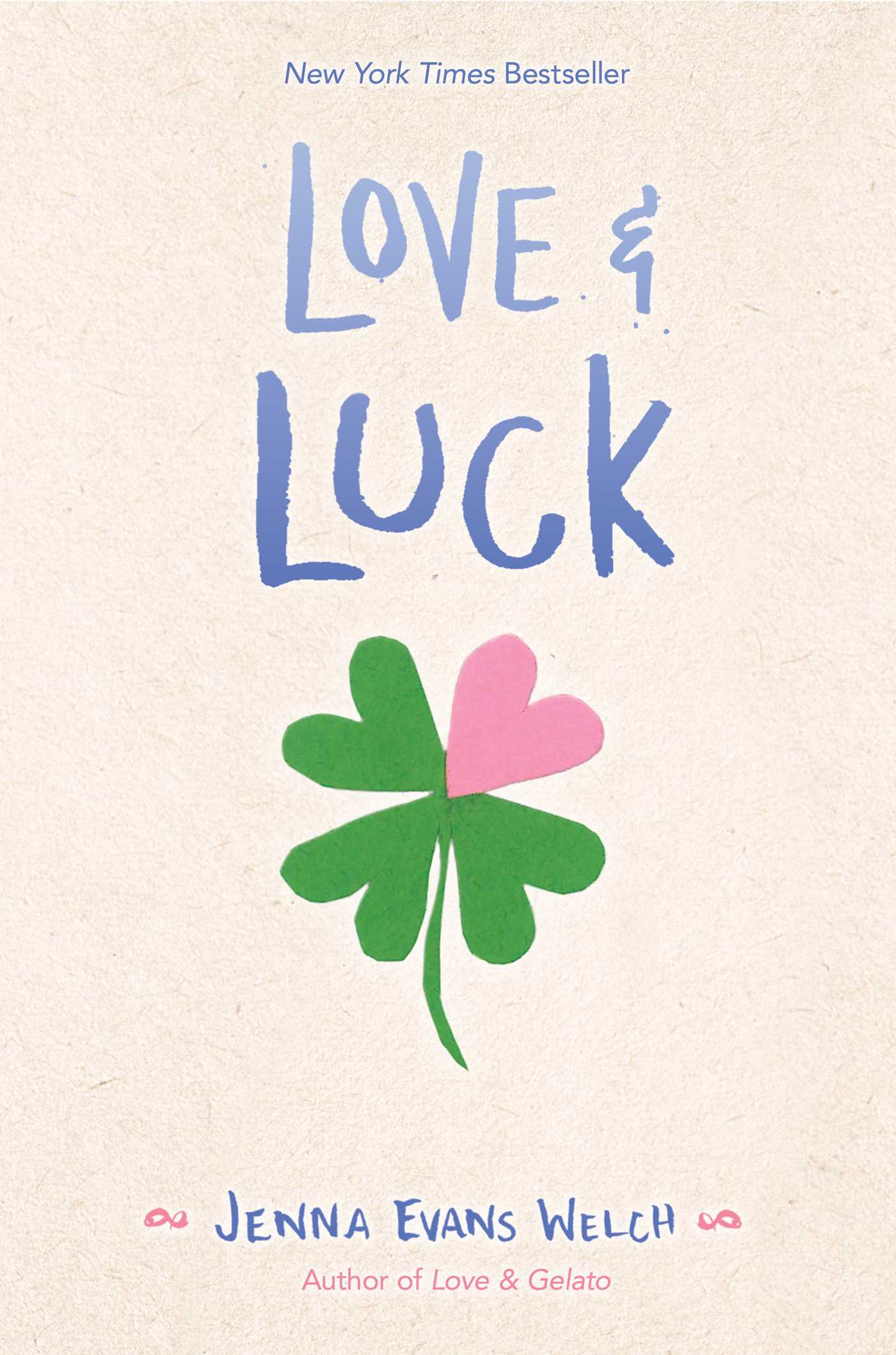Image result for love and luck book