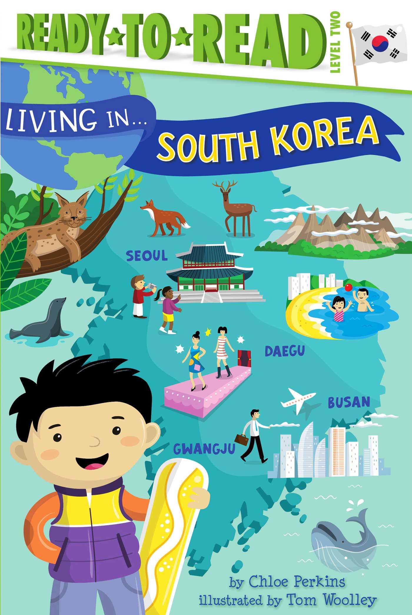 Living in south korea 9781534401426 hr