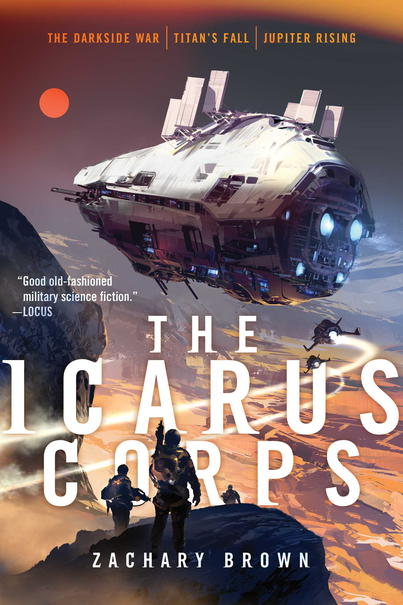The icarus corps 9781534402355 hr