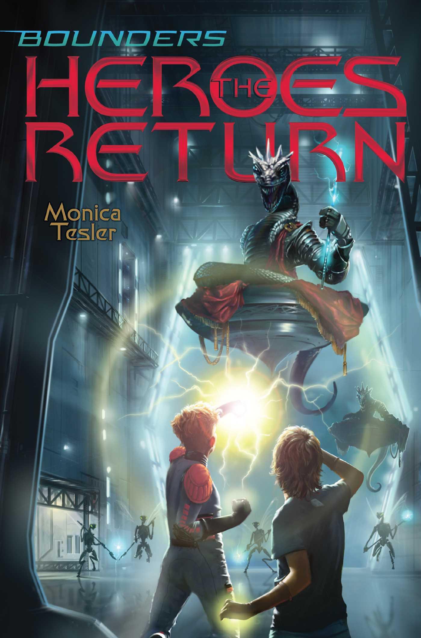 The heroes return 9781534402478 hr