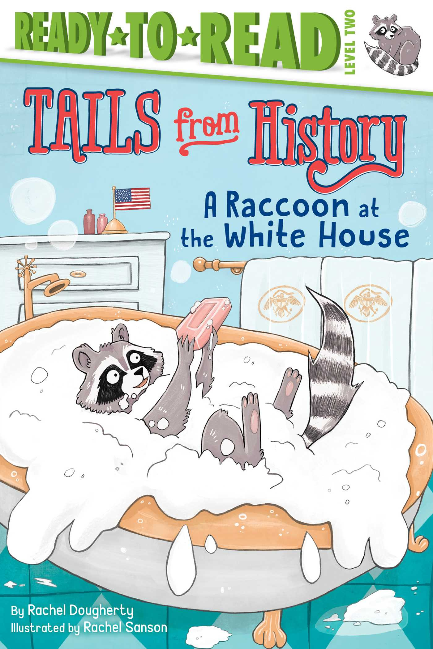 A raccoon at the white house 9781534405417 hr