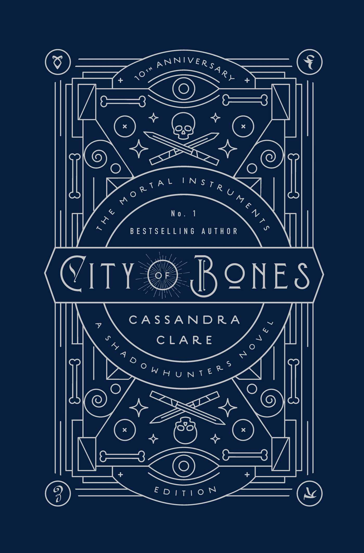 City Of Bones Book By Cassandra Clare Kathleen Jennings