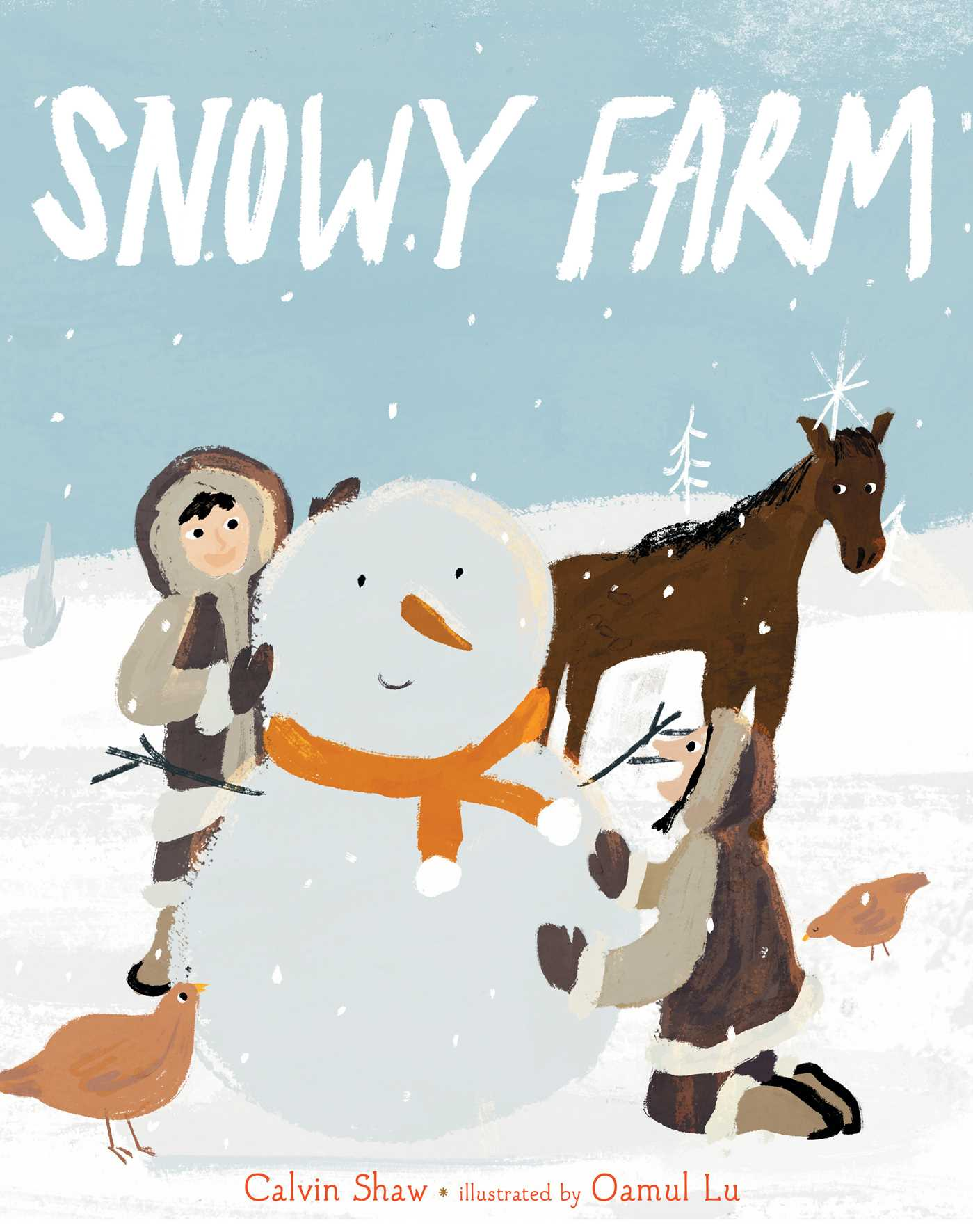 Snowy farm 9781534410473 hr