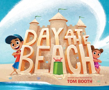 Cover art for the book entitled Day at the Beach